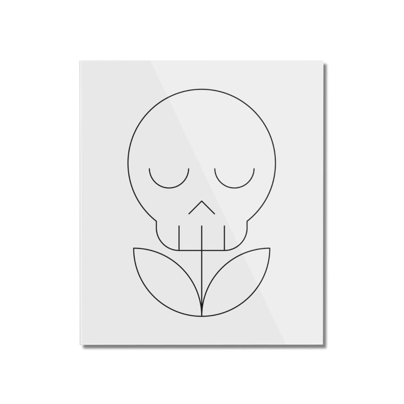 Death from a rose Home Mounted Acrylic Print by Andreas Wikström — Shop