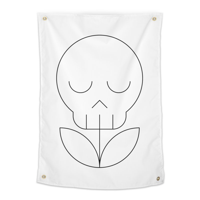 Death from a rose Home Tapestry by Andreas Wikström — Shop