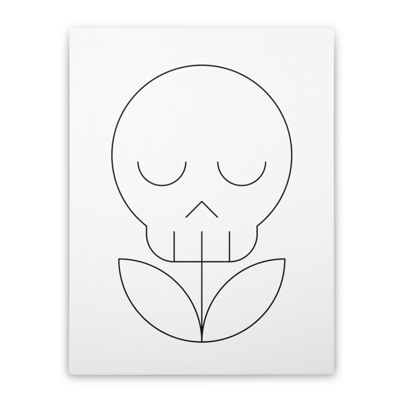 Death from a rose Home Stretched Canvas by Andreas Wikström — Shop