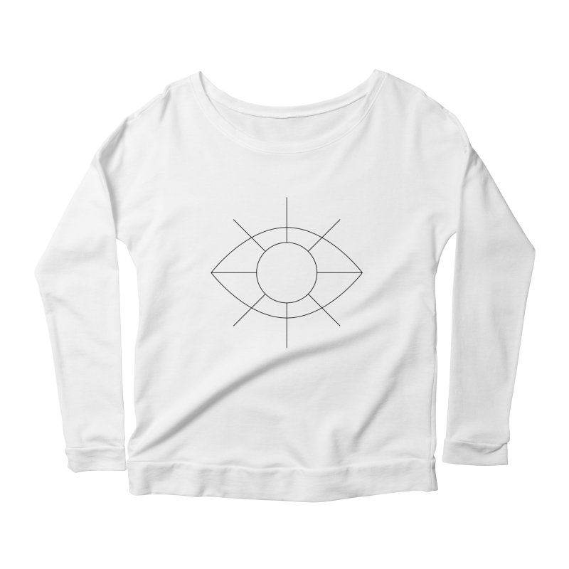 Eye see the sun Women's Scoop Neck Longsleeve T-Shirt by Andreas Wikström — Shop
