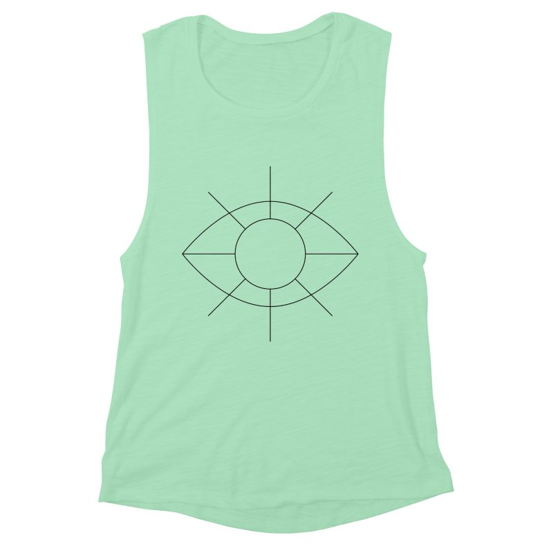 Eye see the sun Women's Muscle Tank by Andreas Wikström — Shop