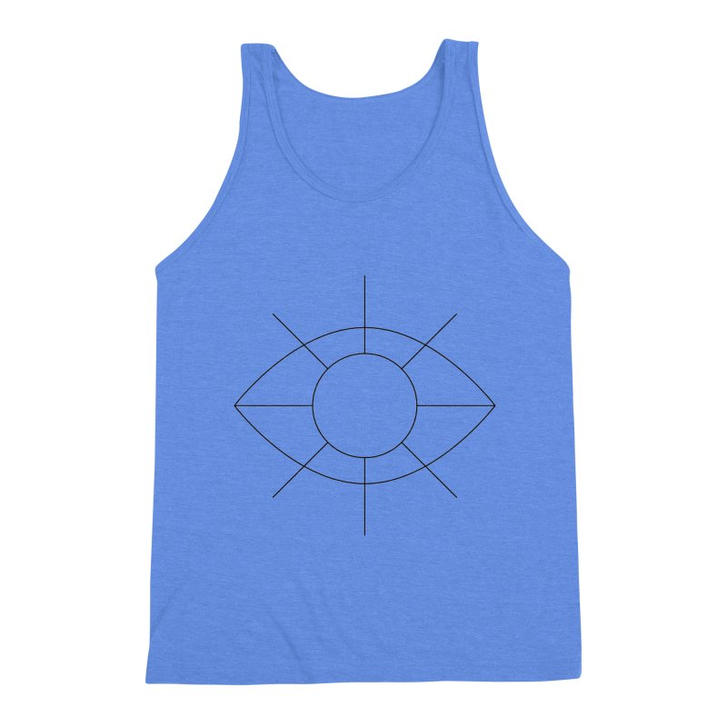 Eye see the sun Men's Triblend Tank by Andreas Wikström — Shop