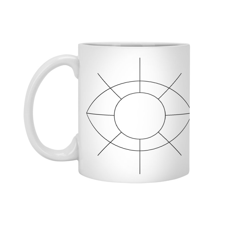 Eye see the sun Accessories Standard Mug by Andreas Wikström — Shop