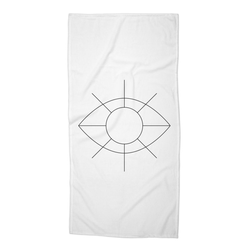 Eye see the sun Accessories Beach Towel by Andreas Wikström — Shop
