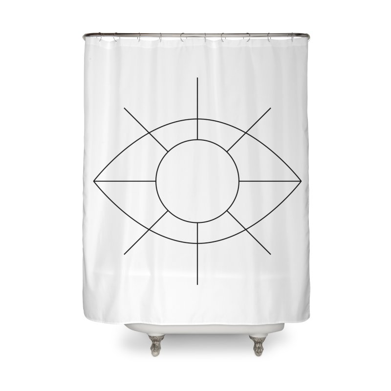 Eye see the sun Home Shower Curtain by Andreas Wikström — Shop
