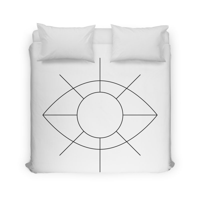 Eye see the sun Home Duvet by Andreas Wikström — Shop