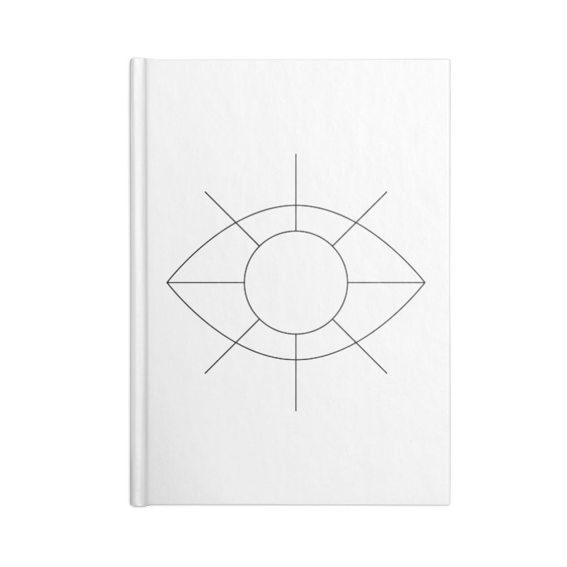 Eye see the sun Accessories Blank Journal Notebook by Andreas Wikström — Shop