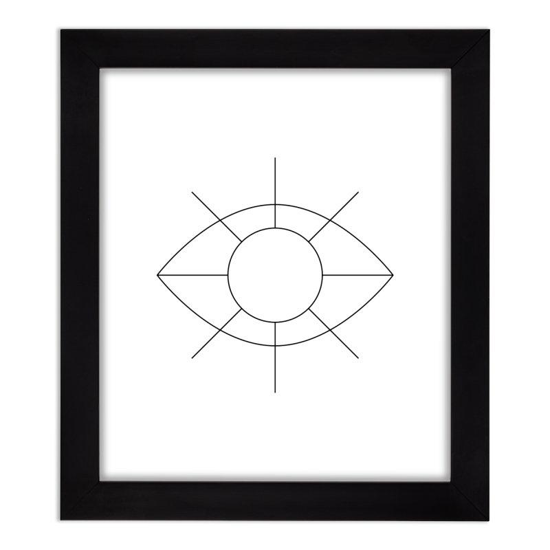 Eye see the sun Home Framed Fine Art Print by Andreas Wikström - Threadless artist shop