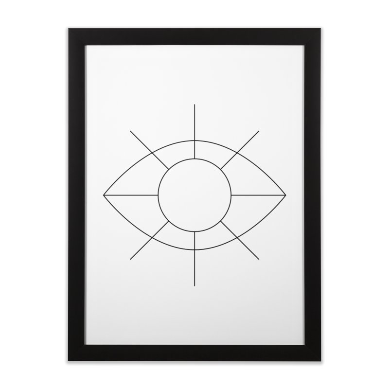 Eye see the sun Home Framed Fine Art Print by Andreas Wikström — Shop