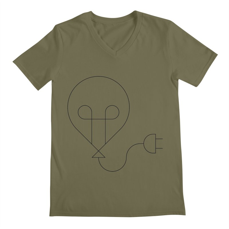 Floating ideas Men's V-Neck by Andreas Wikström — Shop