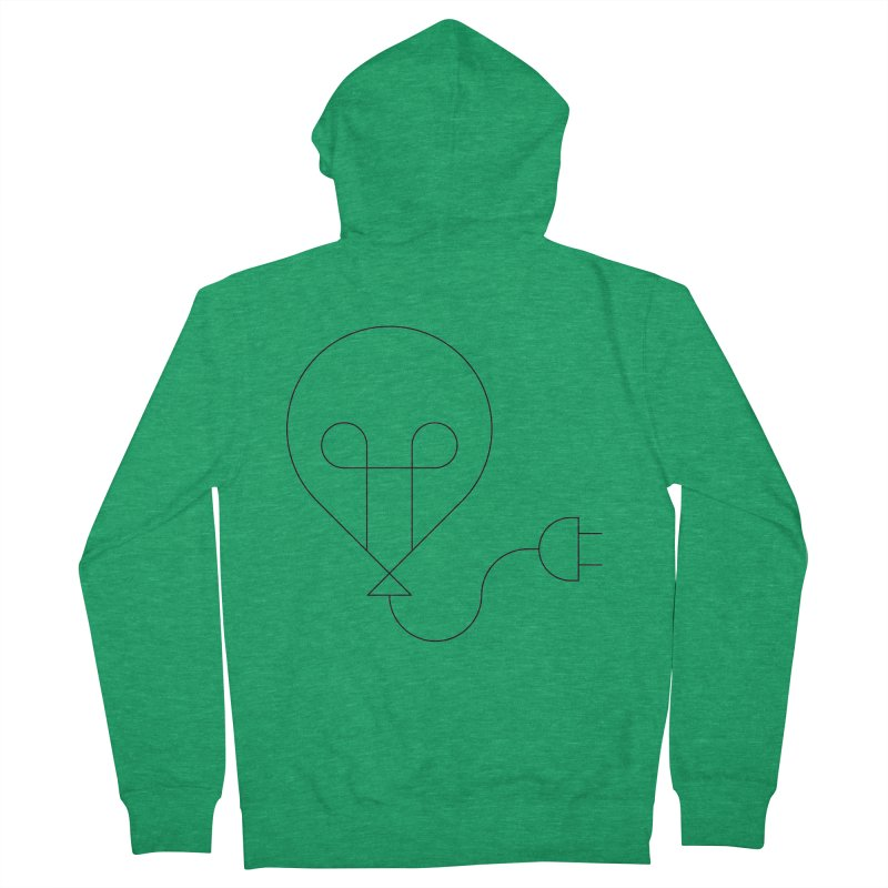 Floating ideas Women's French Terry Zip-Up Hoody by Andreas Wikström — Shop