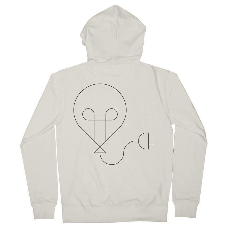 Floating ideas Men's French Terry Zip-Up Hoody by Andreas Wikström — Shop