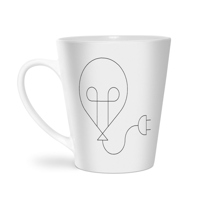 Floating ideas Accessories Latte Mug by Andreas Wikström — Shop
