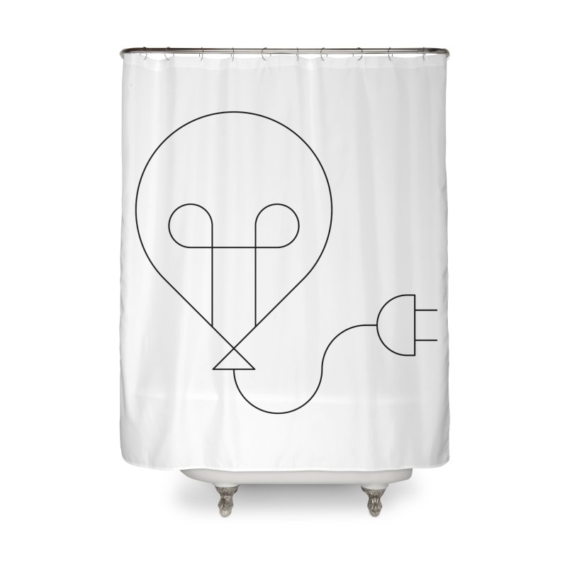Floating ideas Home Shower Curtain by Andreas Wikström — Shop