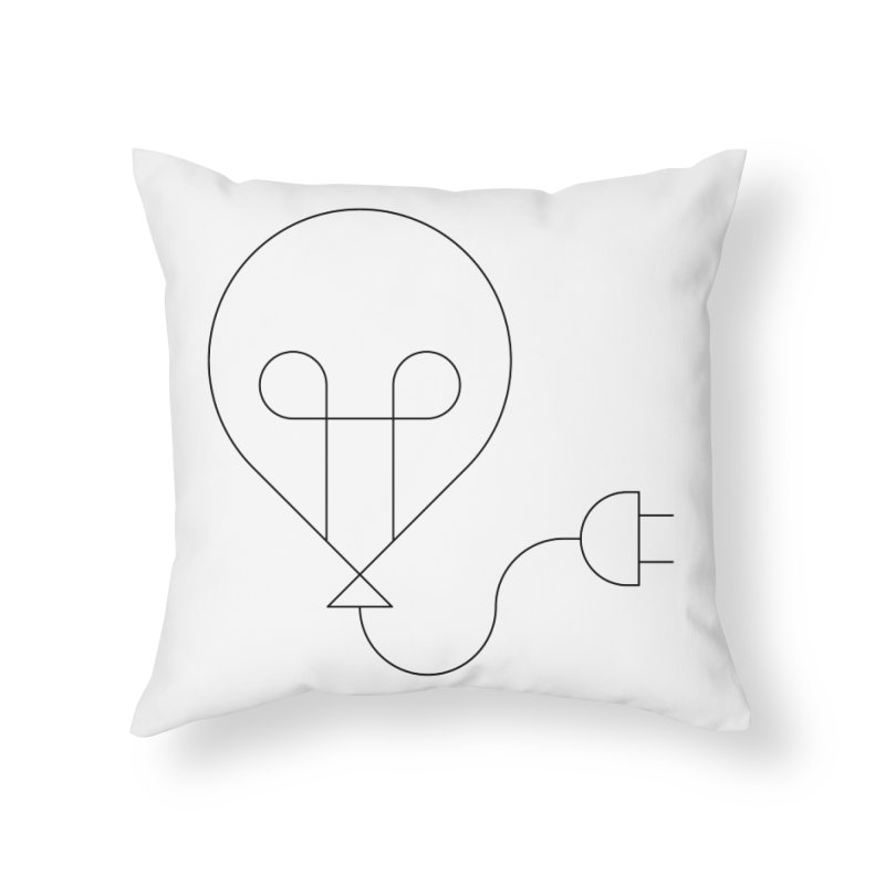 Floating ideas Home Throw Pillow by Andreas Wikström — Shop
