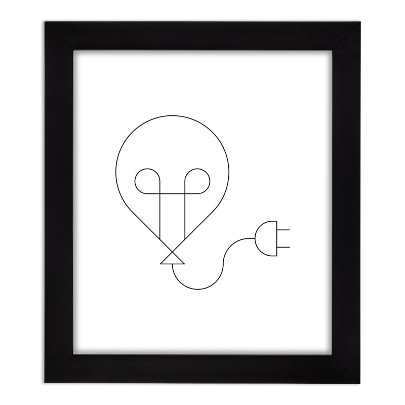 Floating ideas Home Framed Fine Art Print by Andreas Wikström - Threadless artist shop