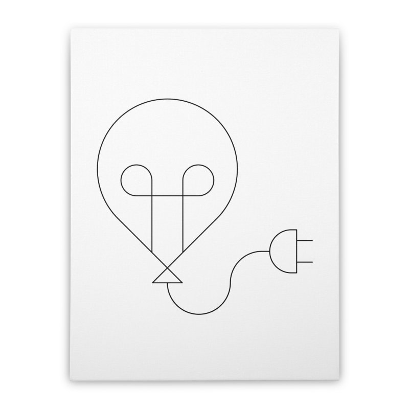 Floating ideas Home Stretched Canvas by Andreas Wikström — Shop