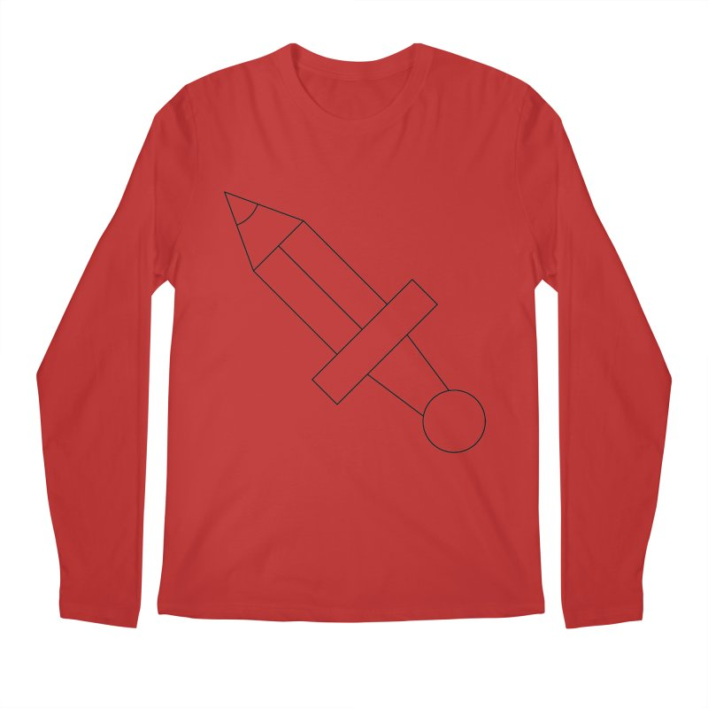 Oh, Mighty pen Men's Regular Longsleeve T-Shirt by Andreas Wikström — Shop