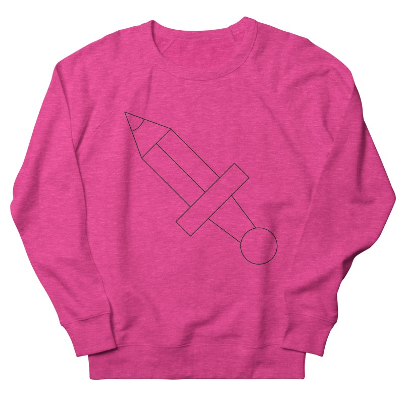 Oh, Mighty pen Women's French Terry Sweatshirt by Andreas Wikström — Shop