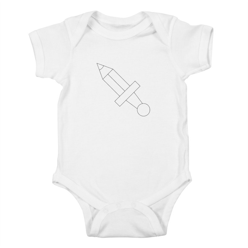 Oh, Mighty pen Kids Baby Bodysuit by Andreas Wikström — Shop