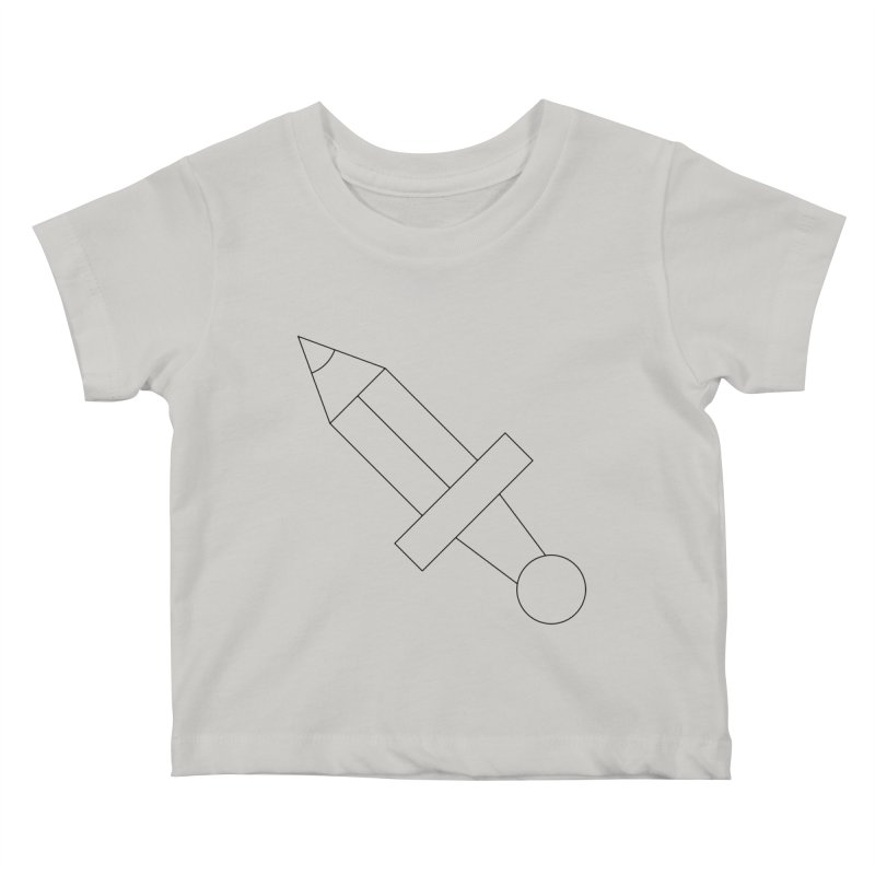 Oh, Mighty pen Kids Baby T-Shirt by Andreas Wikström — Shop