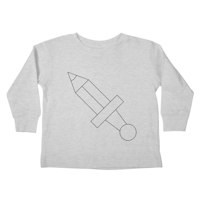 Oh, Mighty pen Kids Toddler Longsleeve T-Shirt by Andreas Wikström — Shop