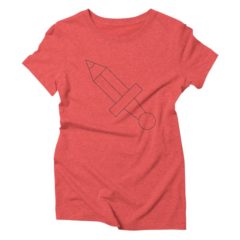 Oh, Mighty pen Women's Triblend T-Shirt by Andreas Wikström — Shop