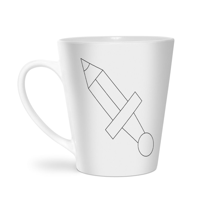 Oh, Mighty pen Accessories Latte Mug by Andreas Wikström — Shop