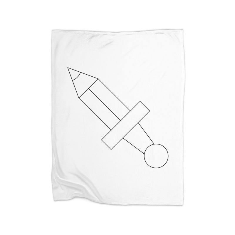 Oh, Mighty pen Home Blanket by Andreas Wikström — Shop