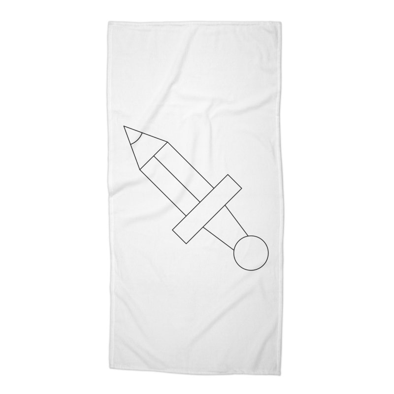 Oh, Mighty pen Accessories Beach Towel by Andreas Wikström — Shop