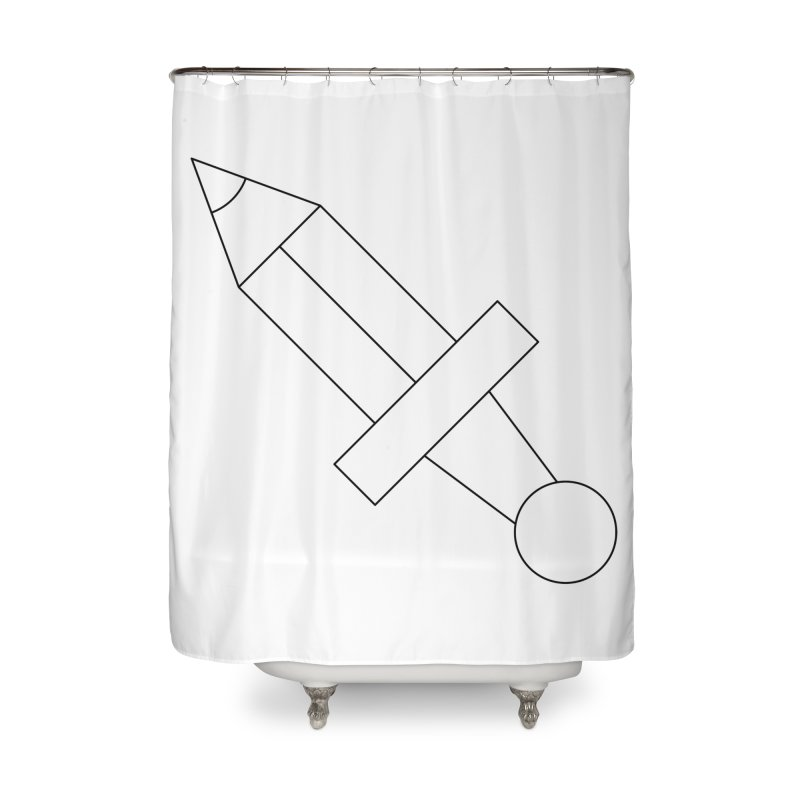 Oh, Mighty pen Home Shower Curtain by Andreas Wikström — Shop