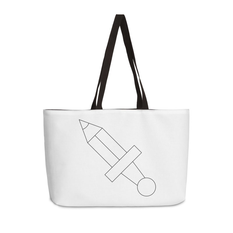 Oh, Mighty pen Accessories Weekender Bag Bag by Andreas Wikström — Shop