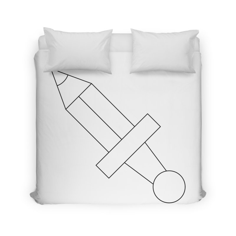 Oh, Mighty pen Home Duvet by Andreas Wikström — Shop