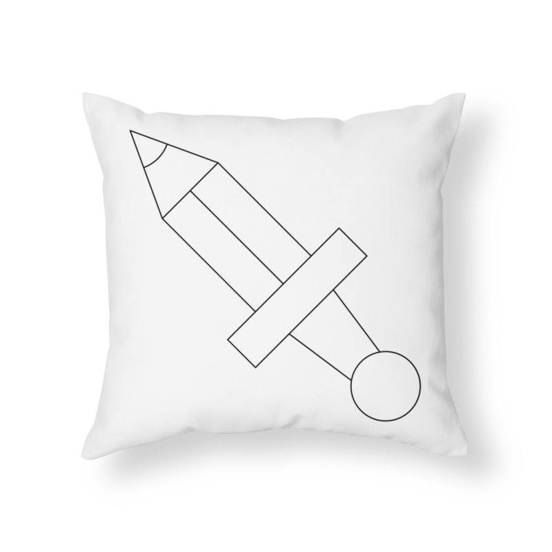 Oh, Mighty pen Home Throw Pillow by Andreas Wikström — Shop