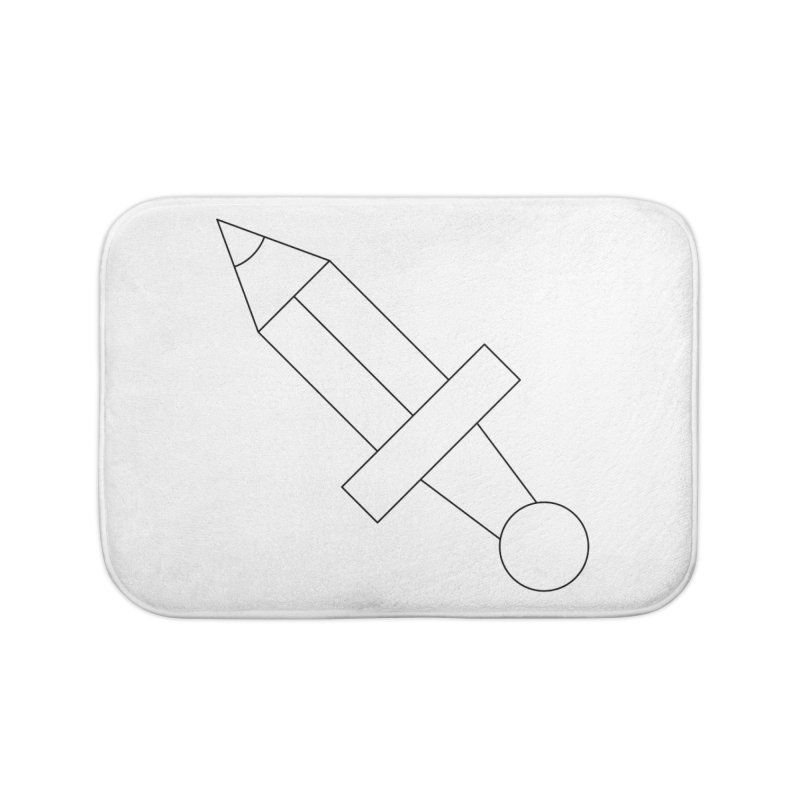 Oh, Mighty pen Home Bath Mat by Andreas Wikström — Shop