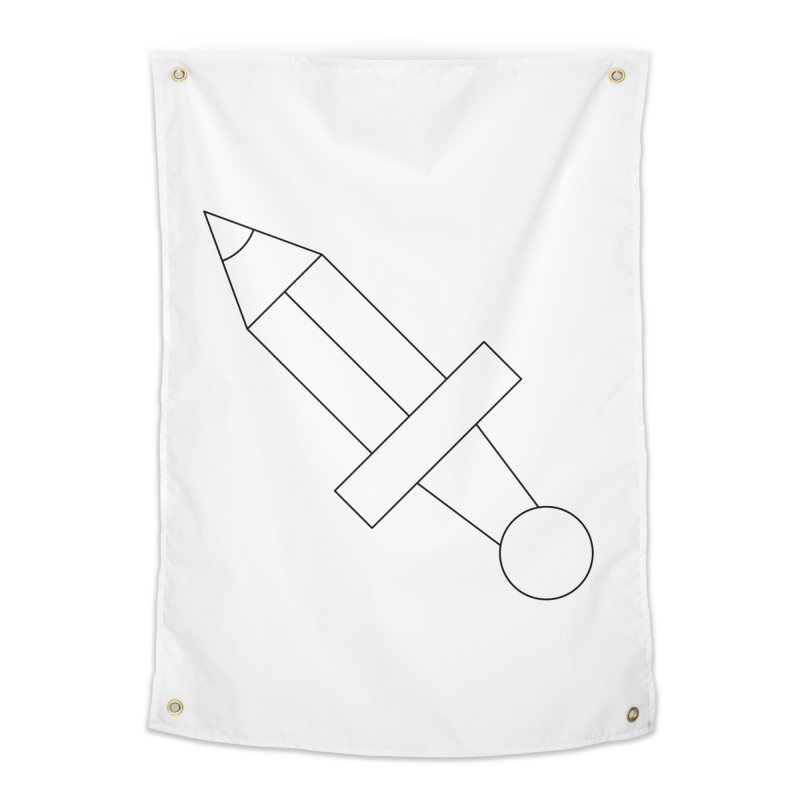 Oh, Mighty pen Home Tapestry by Andreas Wikström — Shop