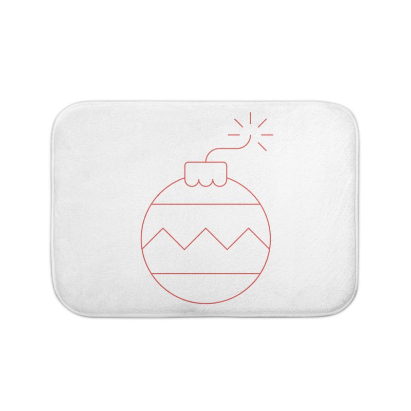 Holiday Stress Ball Home Bath Mat by Andreas Wikström — Shop