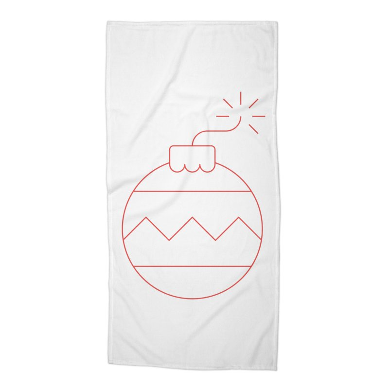Holiday Stress Ball Accessories Beach Towel by Andreas Wikström — Shop
