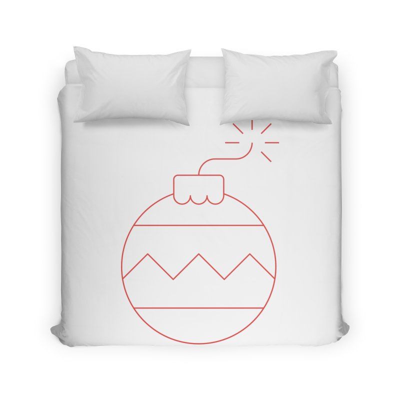 Holiday Stress Ball Home Duvet by Andreas Wikström — Shop