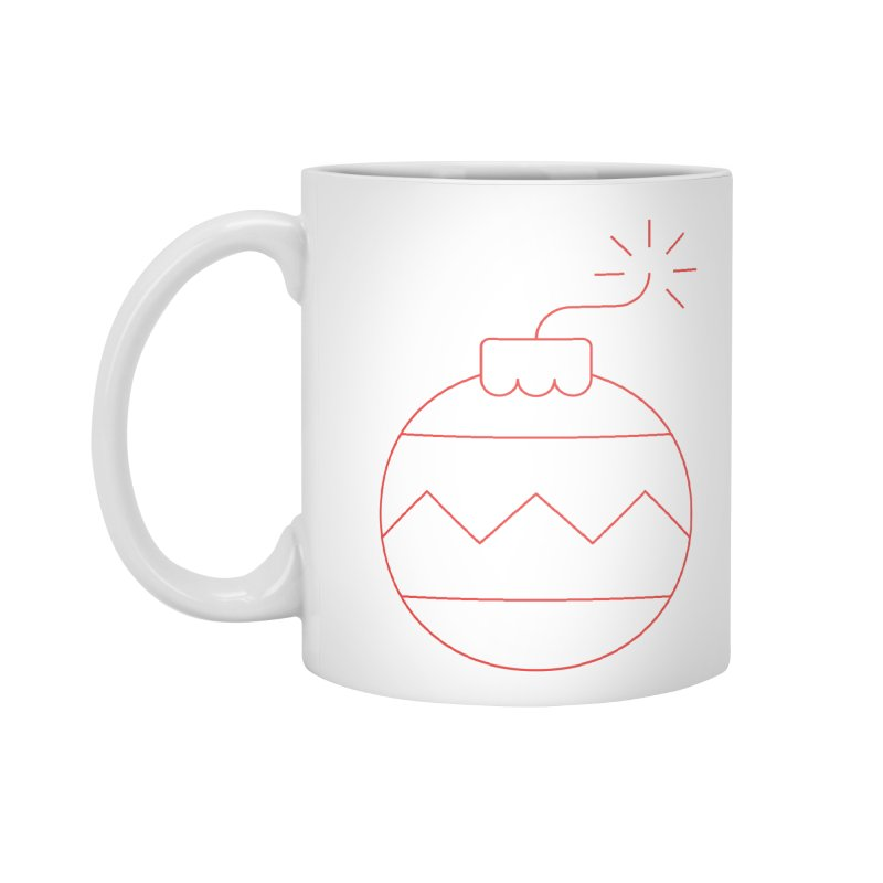 Holiday Stress Ball Accessories Mug by Andreas Wikström — Shop