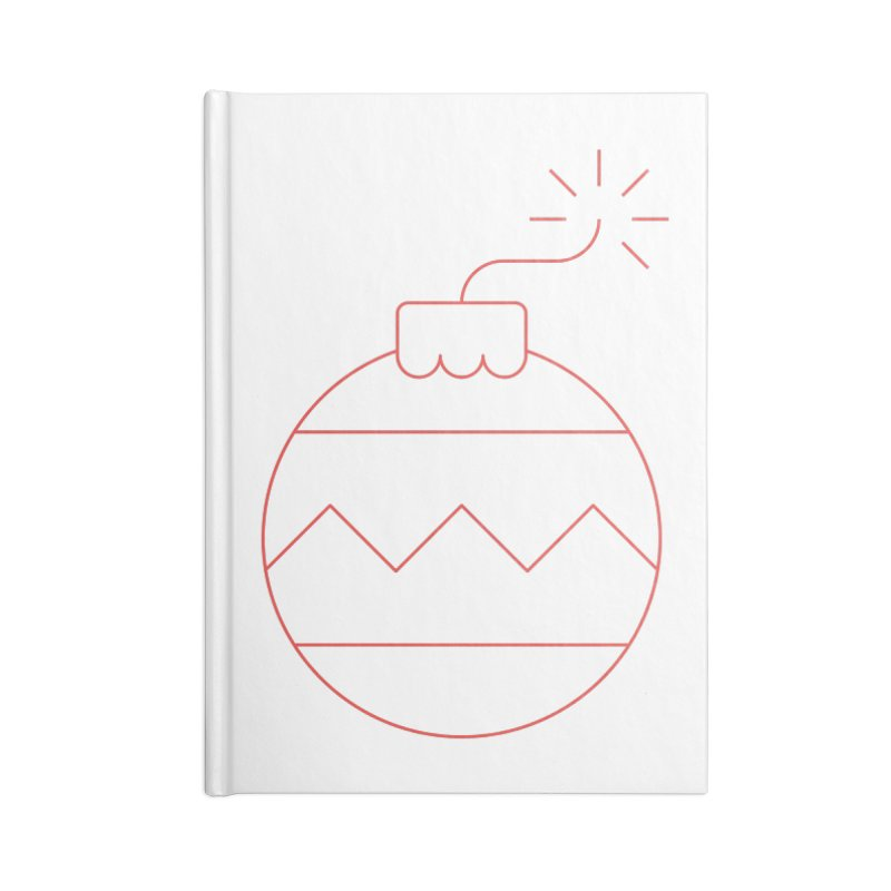 Holiday Stress Ball Accessories Notebook by Andreas Wikström — Shop