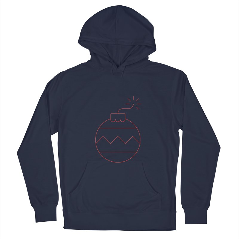 Holiday Stress Ball Women's French Terry Pullover Hoody by Andreas Wikström — Shop