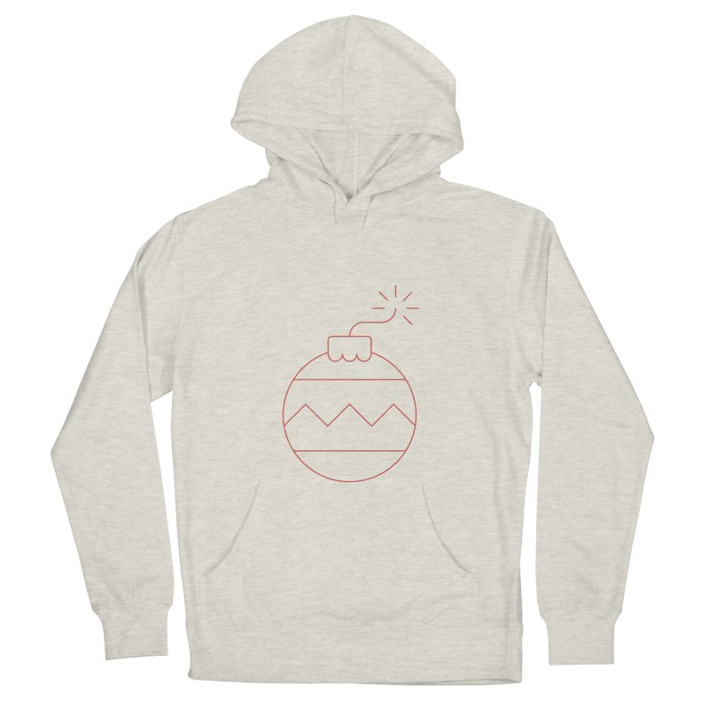 Holiday Stress Ball Men's French Terry Pullover Hoody by Andreas Wikström — Shop