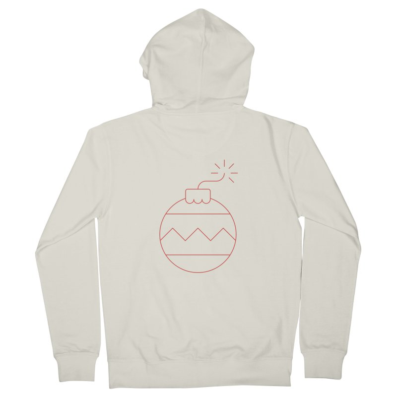 Holiday Stress Ball Women's French Terry Zip-Up Hoody by Andreas Wikström — Shop