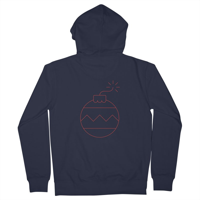 Holiday Stress Ball Men's Zip-Up Hoody by Andreas Wikström — Shop