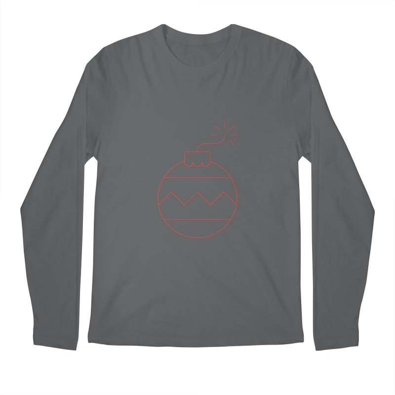 Holiday Stress Ball Men's Longsleeve T-Shirt by Andreas Wikström - Threadless artist shop