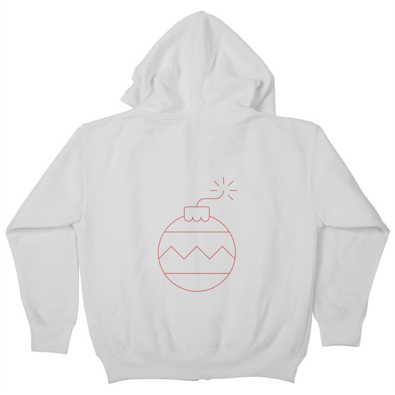 Holiday Stress Ball Kids Zip-Up Hoody by Andreas Wikström — Shop