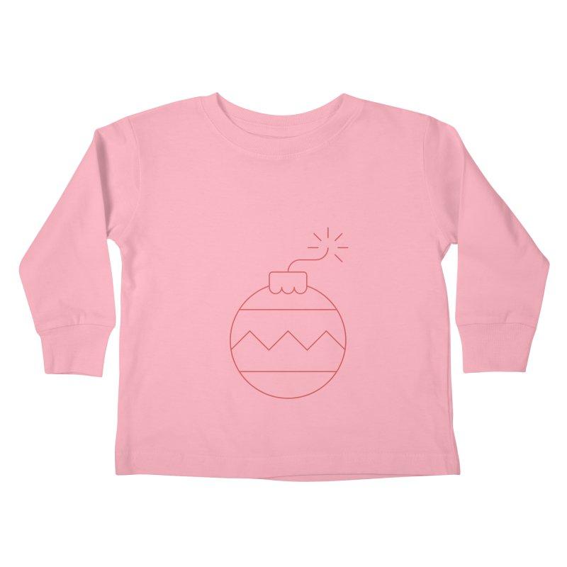 Holiday Stress Ball Kids Toddler Longsleeve T-Shirt by Andreas Wikström — Shop
