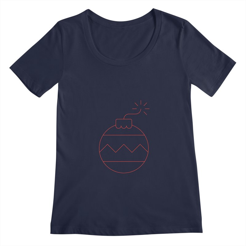 Holiday Stress Ball Women's Regular Scoop Neck by Andreas Wikström — Shop