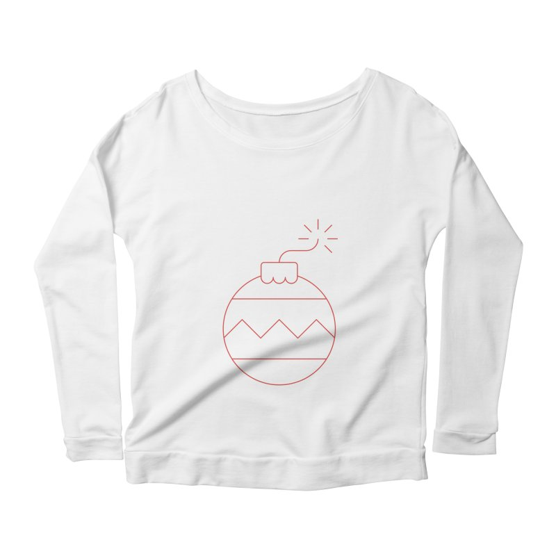 Holiday Stress Ball Women's Scoop Neck Longsleeve T-Shirt by Andreas Wikström — Shop